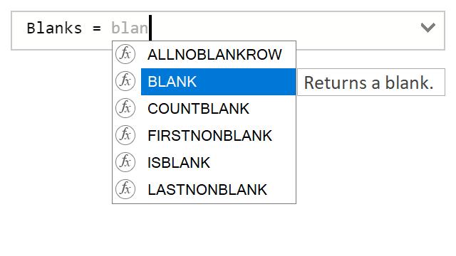 Different blanks in DAX – XXL BI